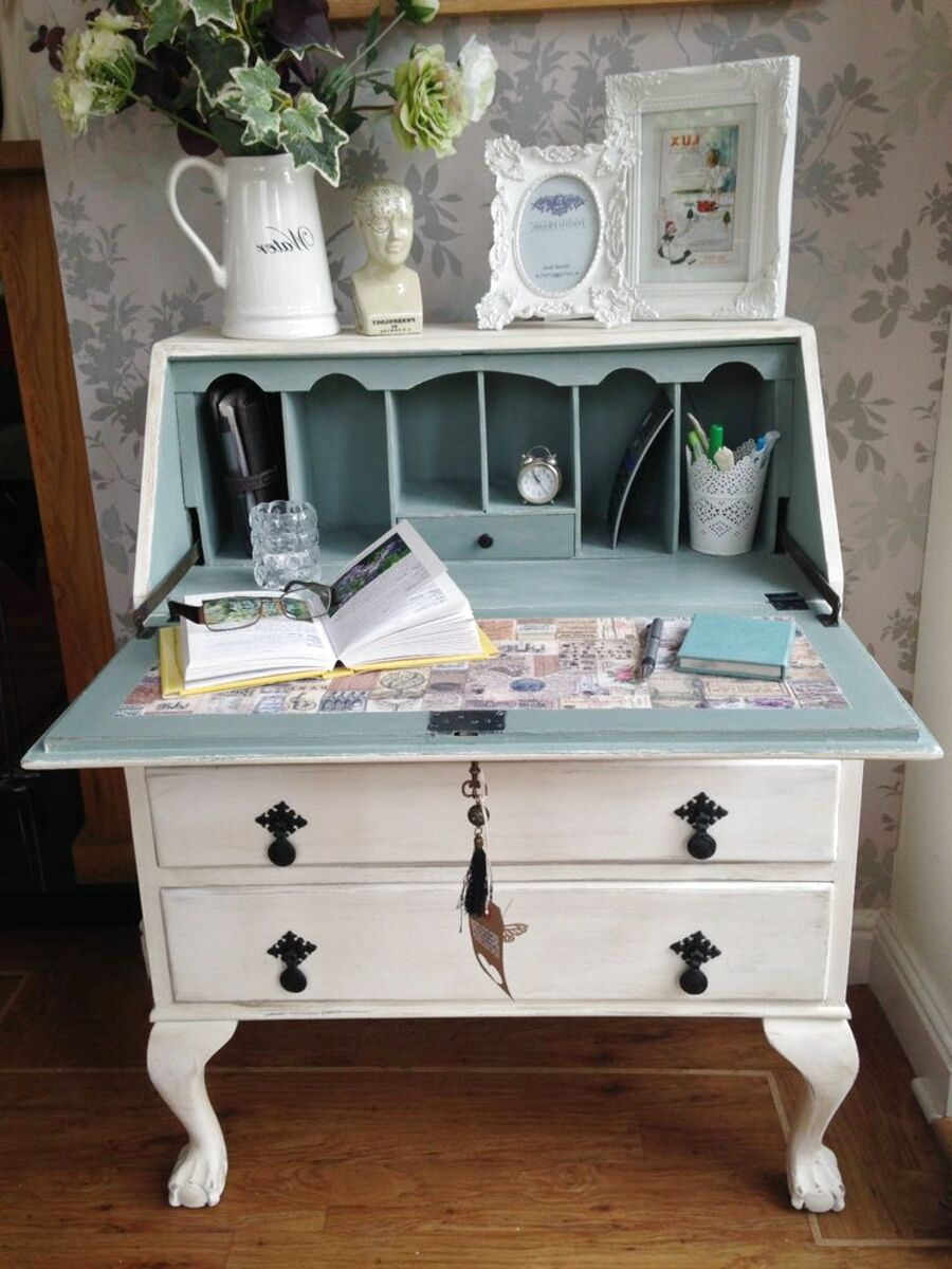shabby chic writing desk for sale
