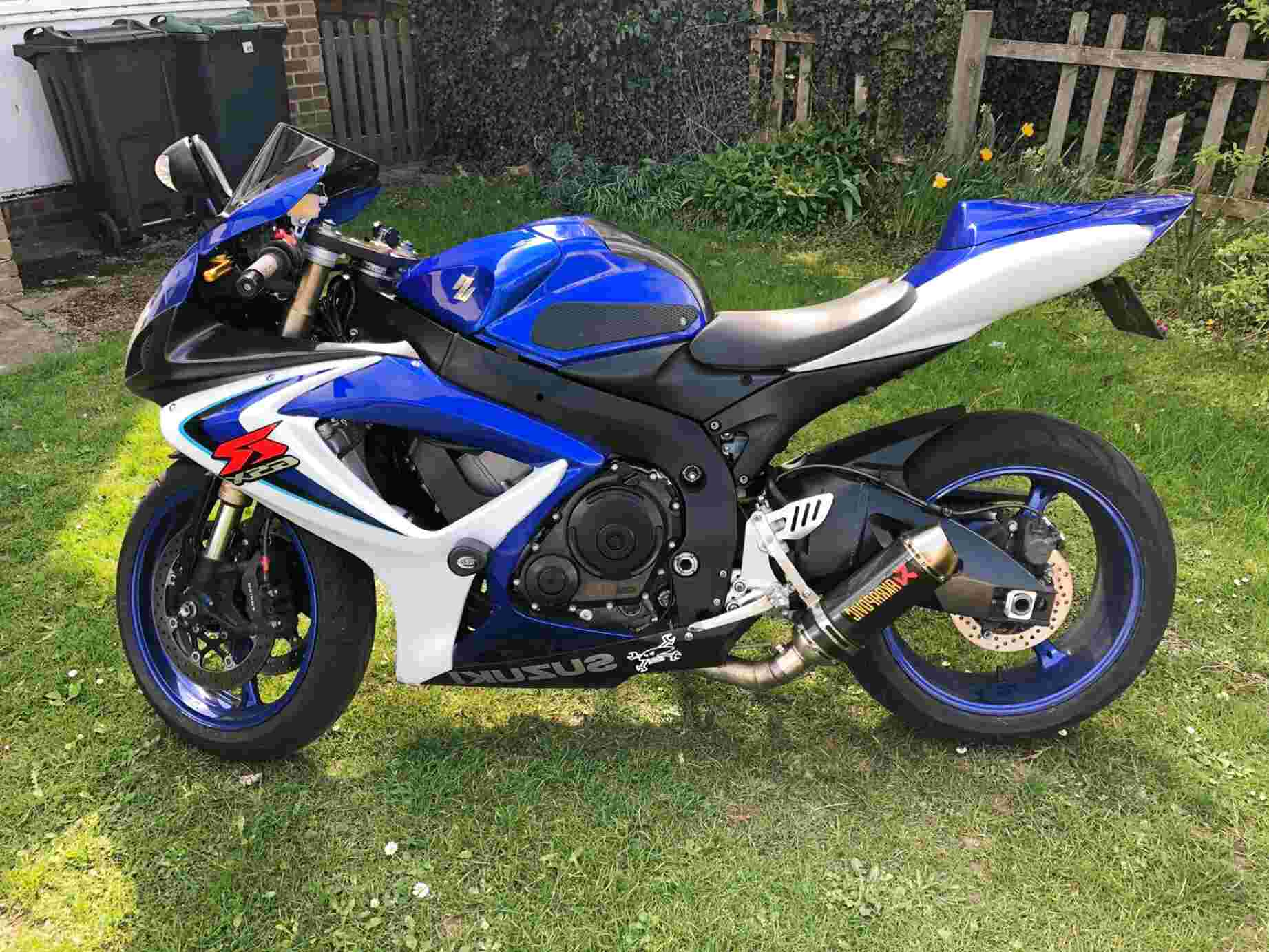 gsxr 600 k6 for sale
