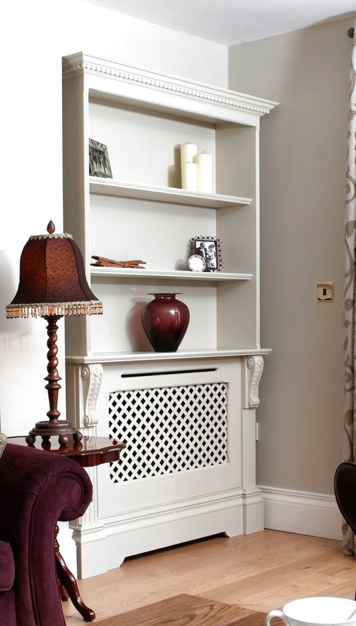 Radiator Cover Bookcase For Sale In Uk View 68 Bargains