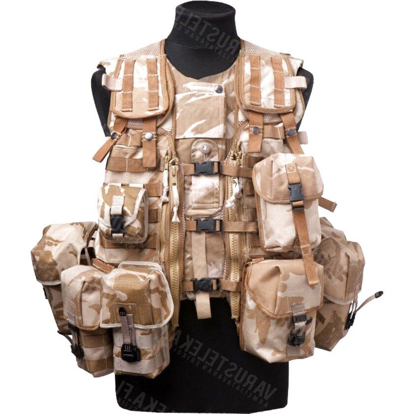 Max Fuchs GB Ammo Pouch Holder Molle DPM Desert Like New