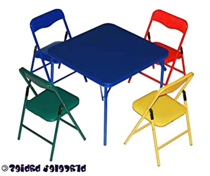 childrens folding table chairs for sale