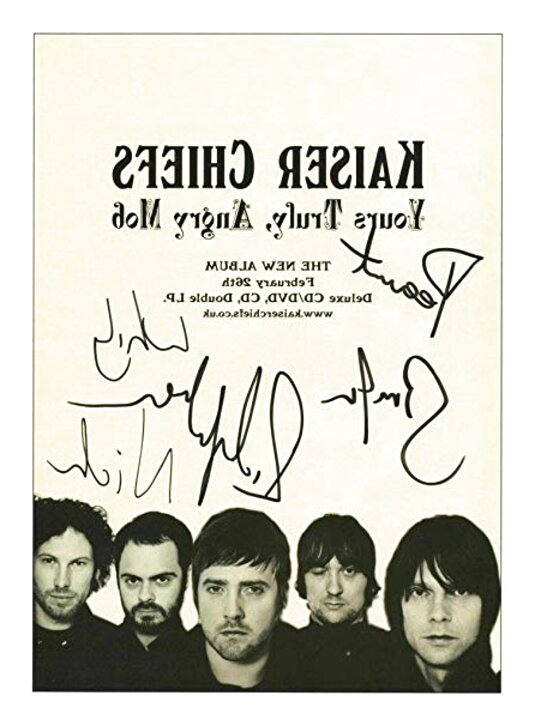kaiser chiefs signed for sale