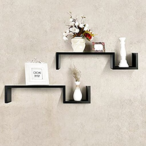 s shape shelf for sale