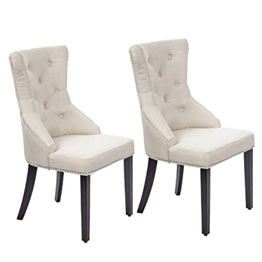 fabric dining chairs for sale