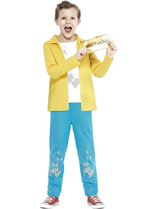 Kids Official Roald Dahl The Enormous Crocodile Jumpsuit Book Week Costume Child
