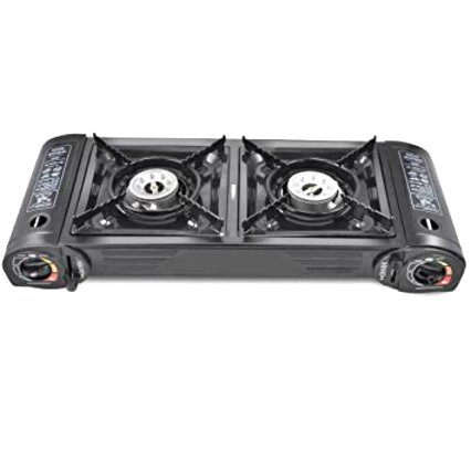 gas double camping cooker for sale