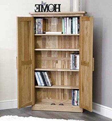 oak cd cabinet for sale