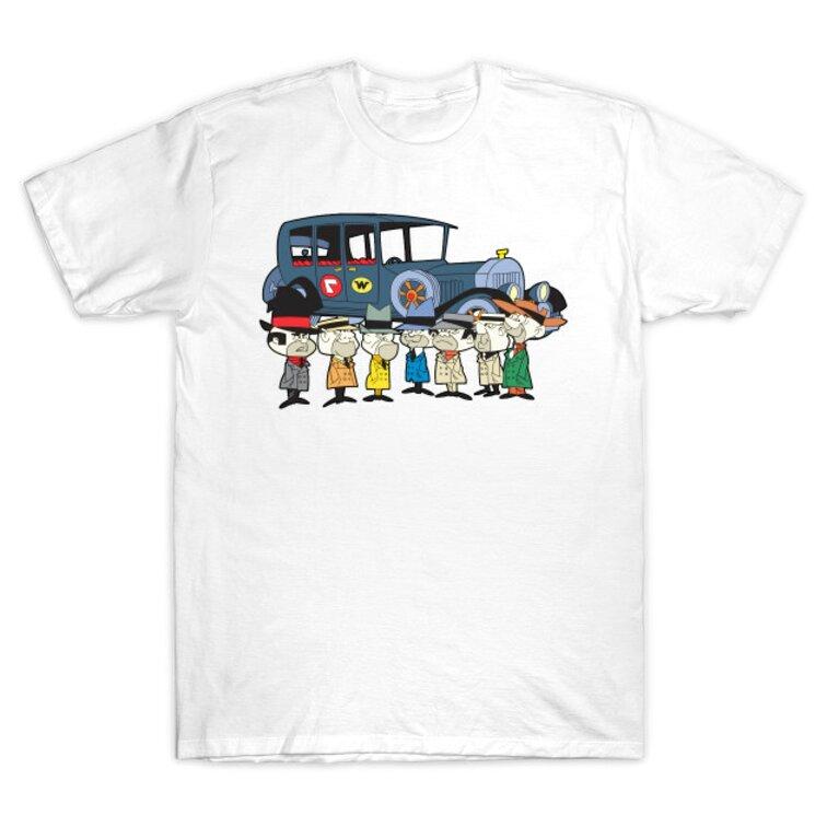 wacky races t shirt for sale
