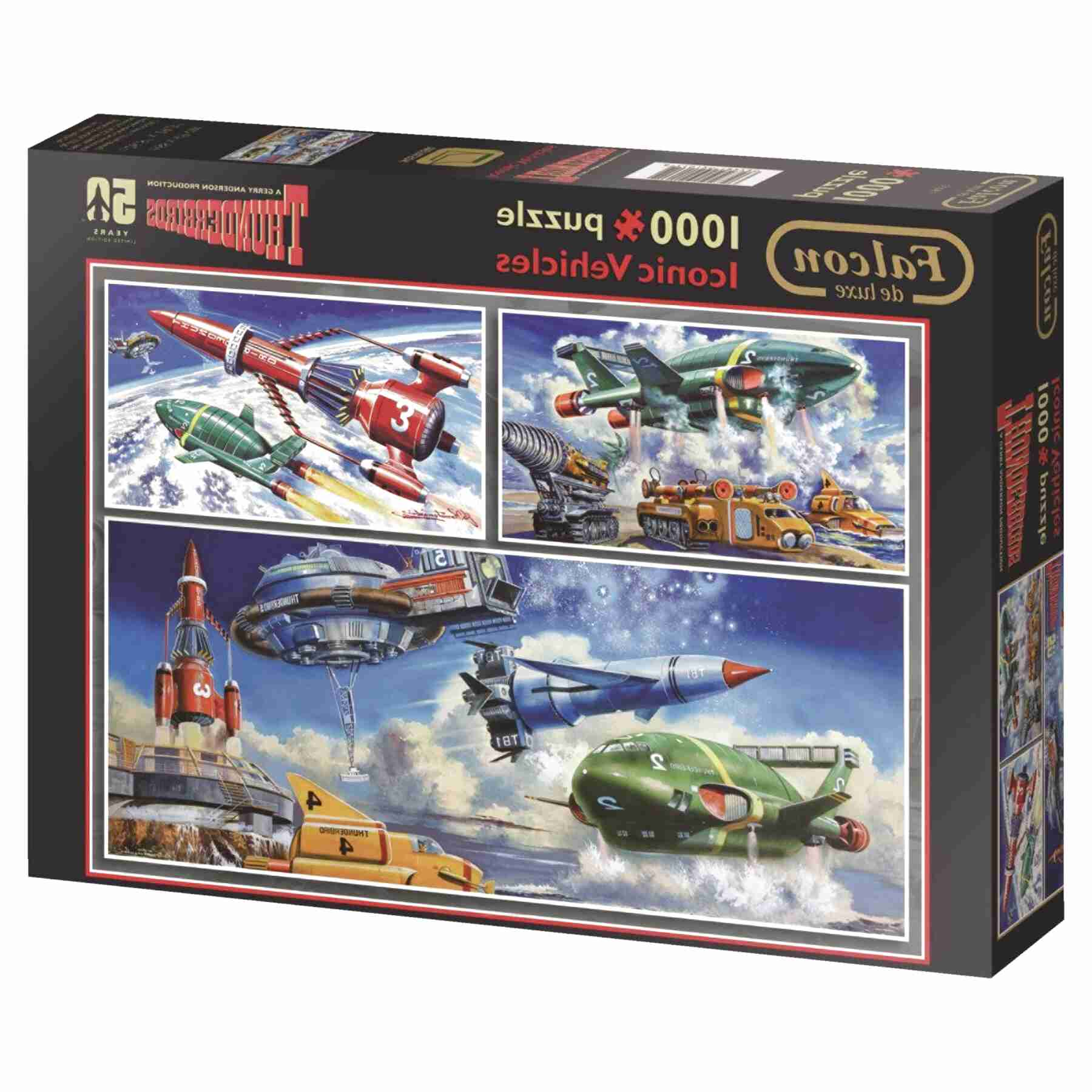 thunderbirds puzzle for sale