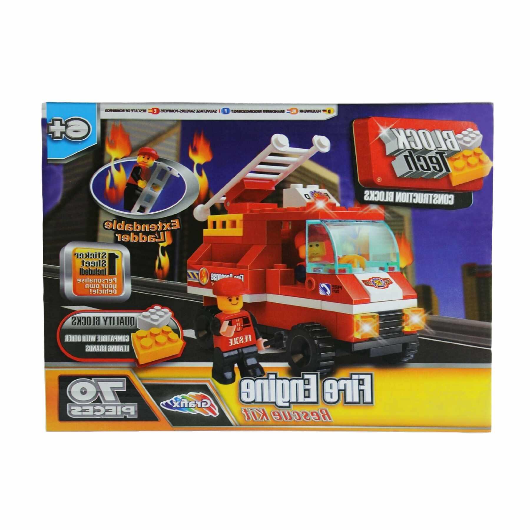 block tech fire engine for sale