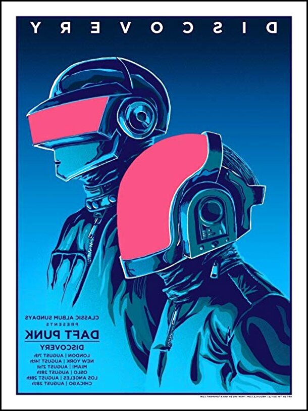 daft punk poster for sale