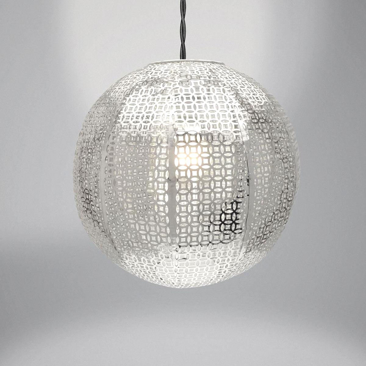 silver light fitting for sale