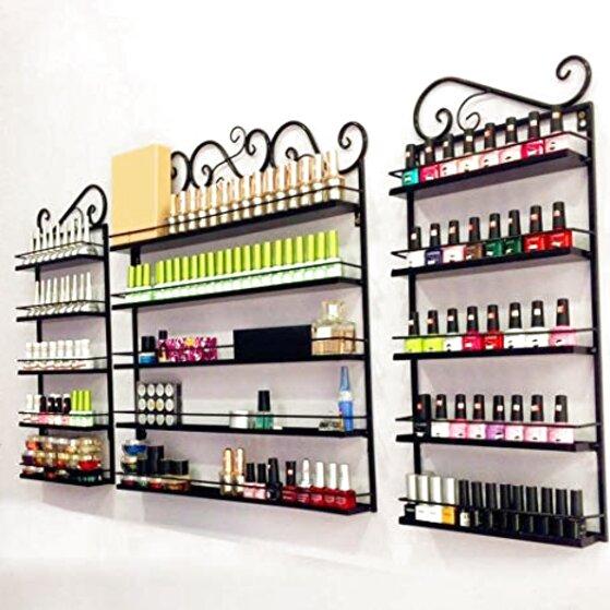 nail polish rack wall for sale