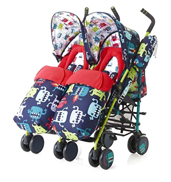 cosatto twin buggy for sale