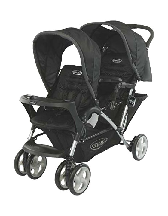 graco twin pushchair for sale