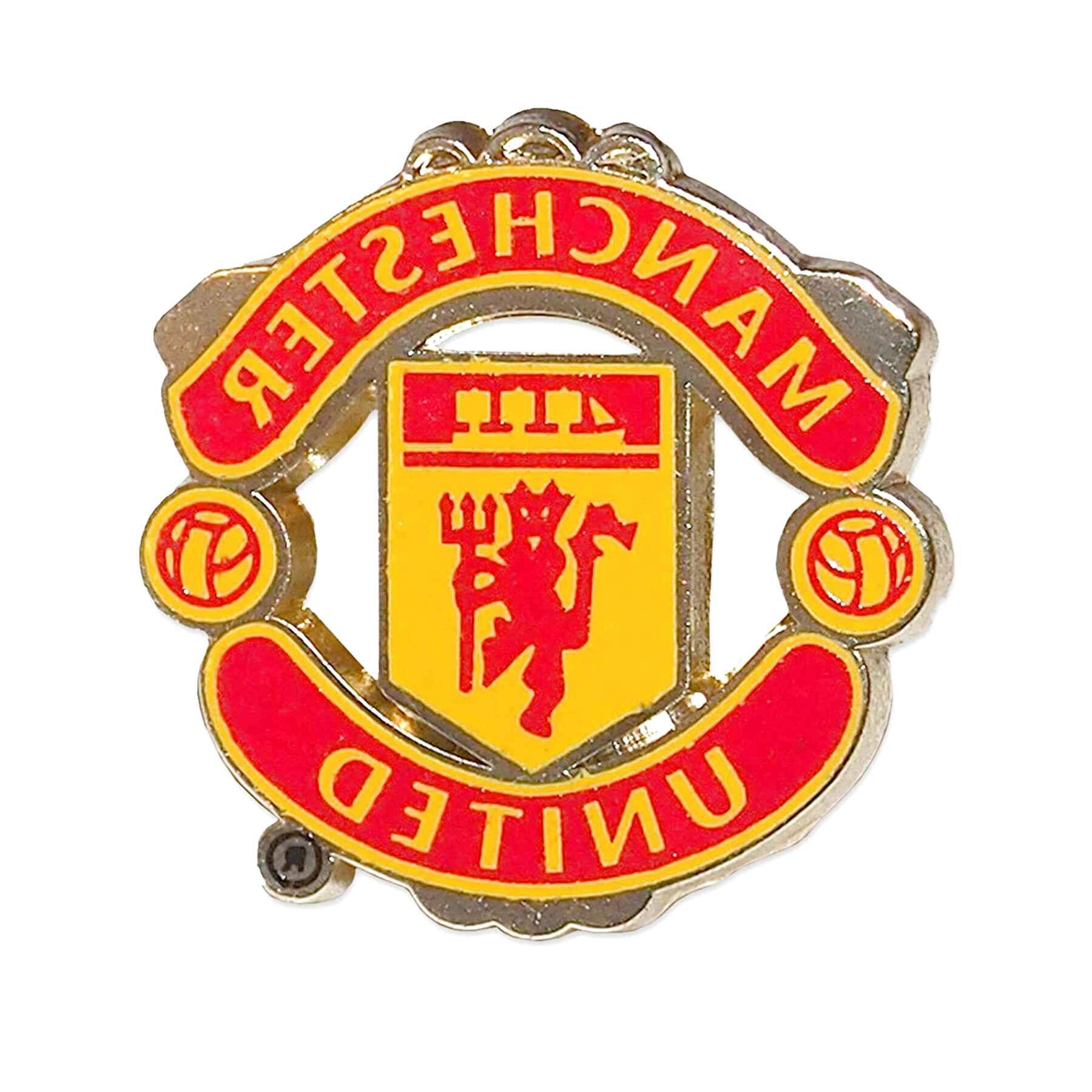 Manchester United Fc Official Crest Metal Badge Brand New Indarsrl Com Ar