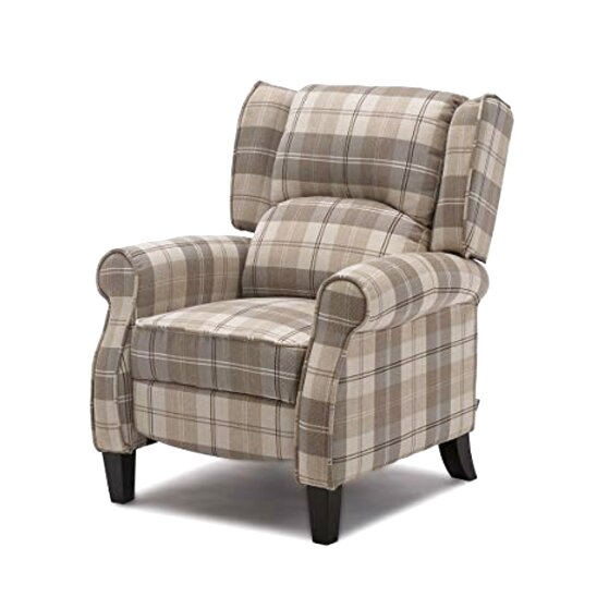 check armchair for sale