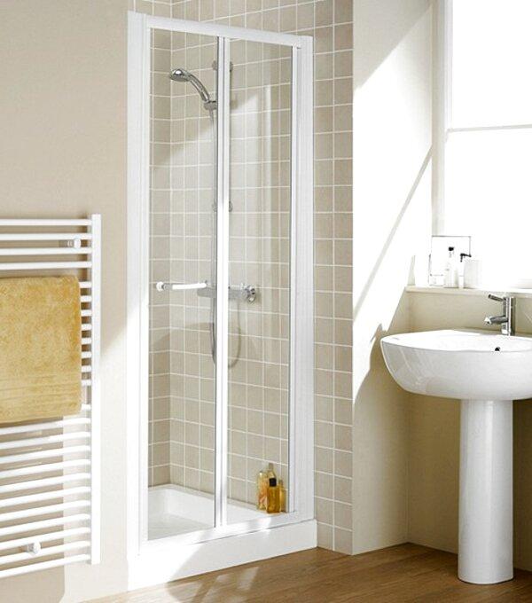 white sliding shower doors for sale