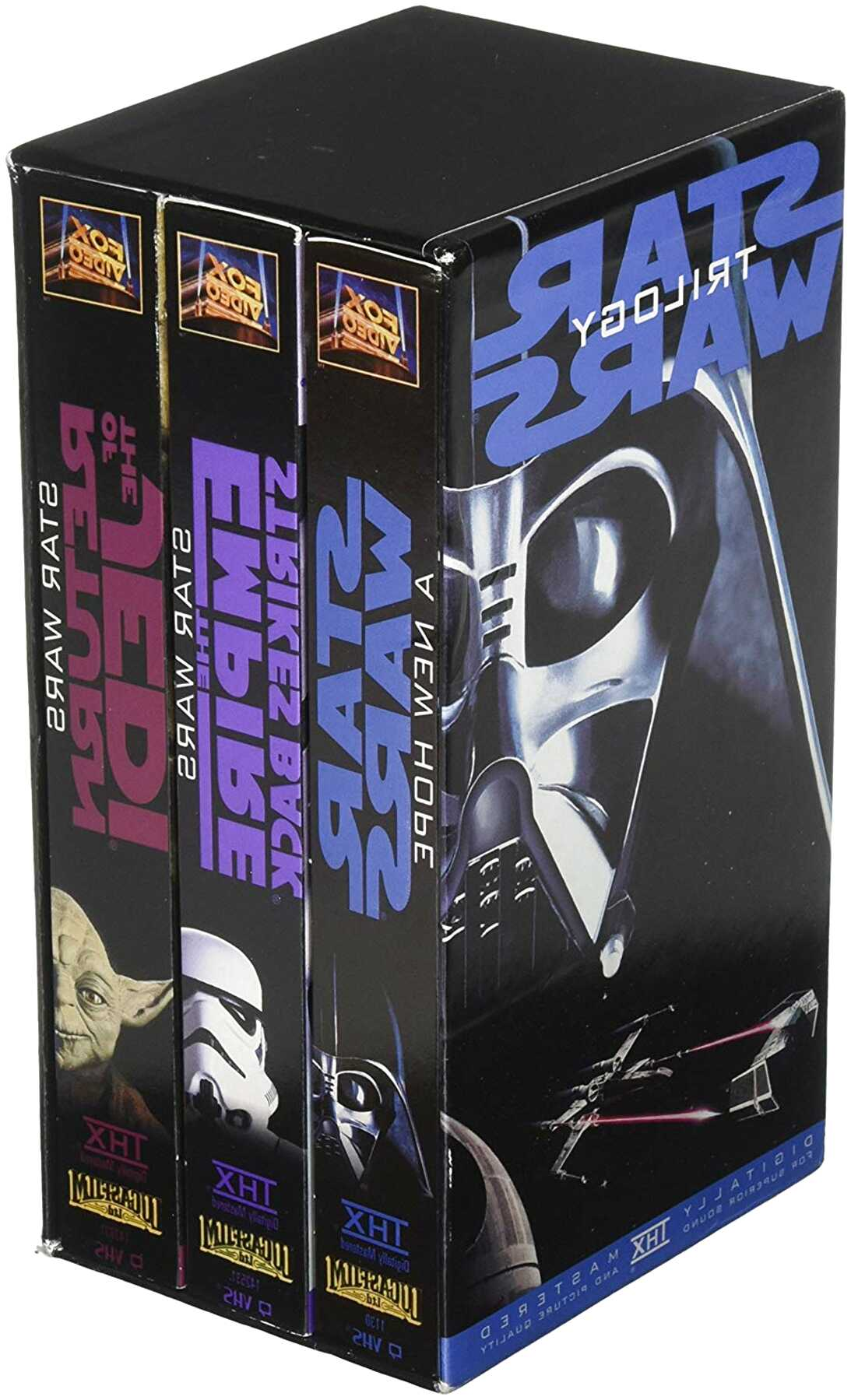 Star Wars Vhs Tapes For Sale In Uk View 77 Bargains