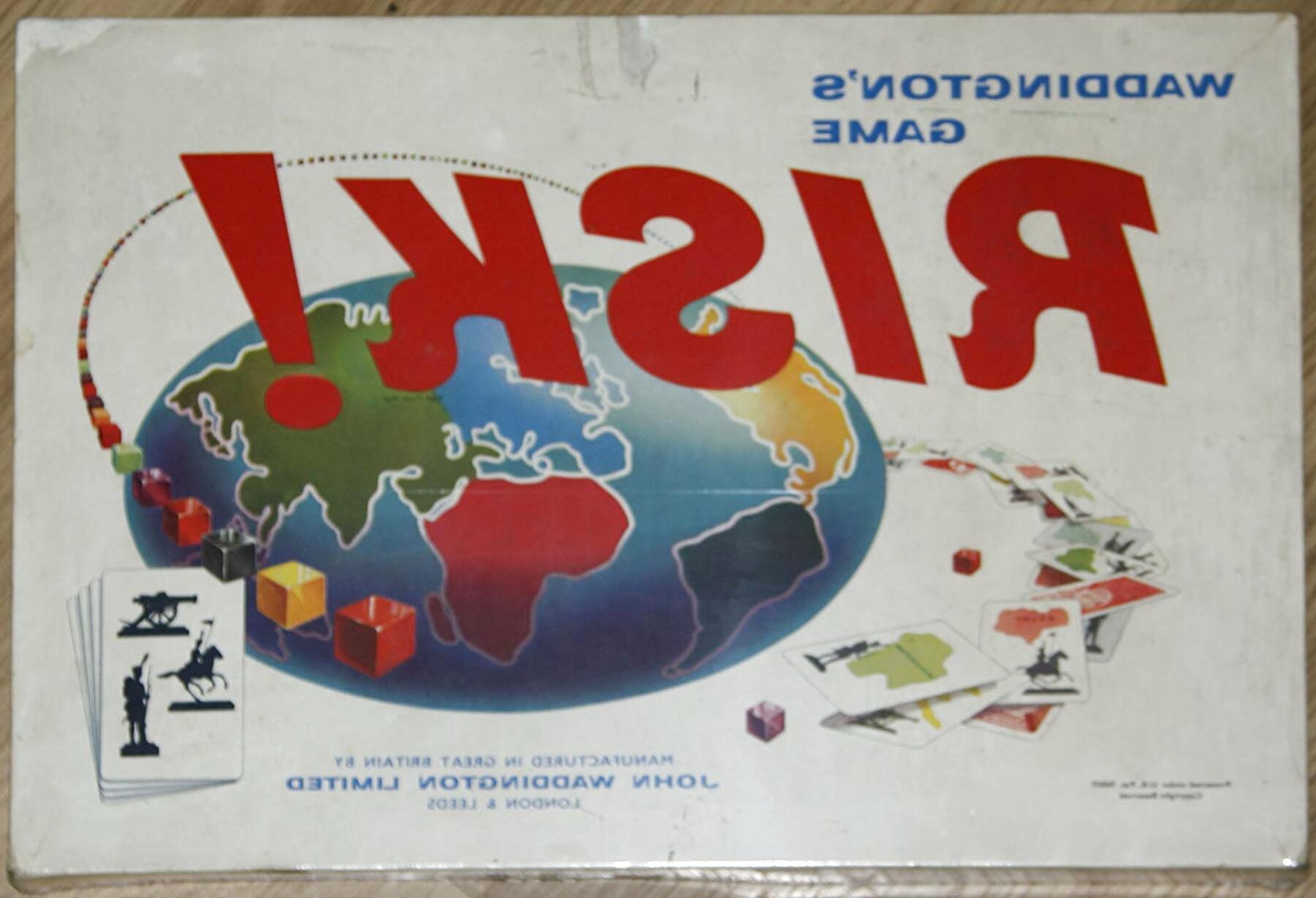 waddington board games risk for sale