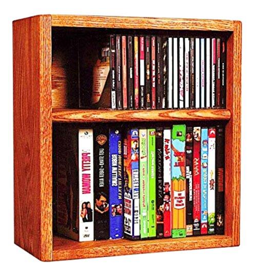 oak cd dvd storage for sale