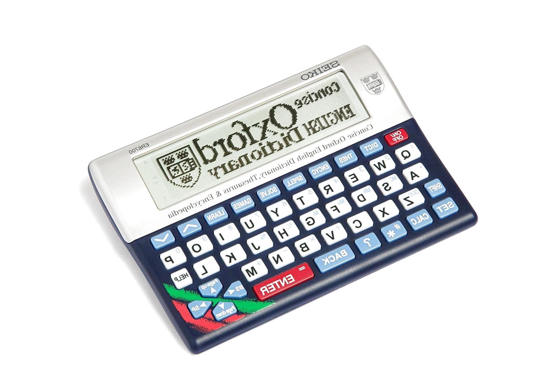 Seiko Concise Oxford Dictionary.