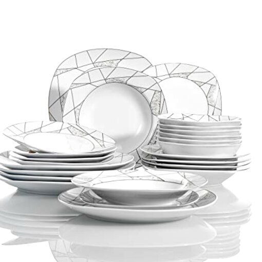 24 piece dinner set for sale