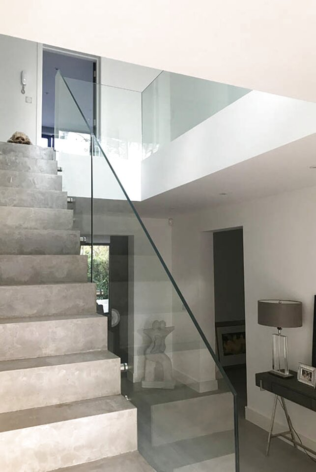 glass balustrade for sale