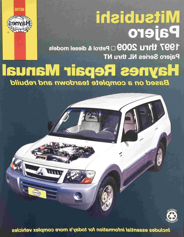 mitsubishi pajero haynes manual for sale