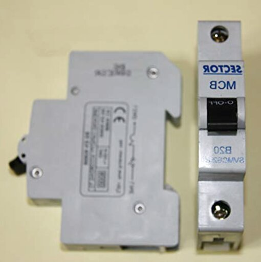 Type B Single Pole MCB used Sector SVMCB