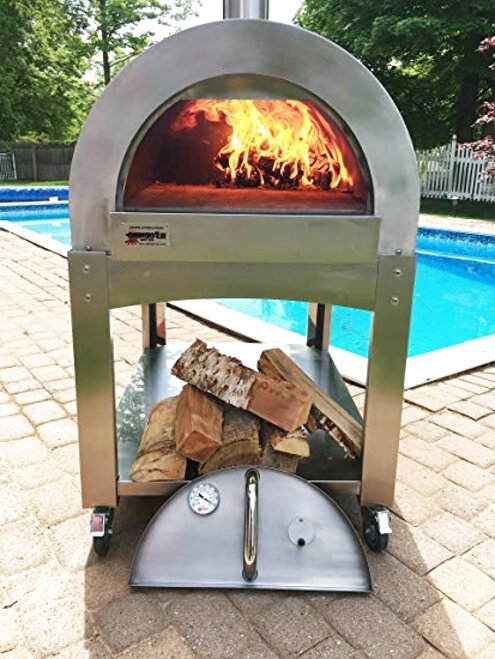 wood fired pizza oven for sale
