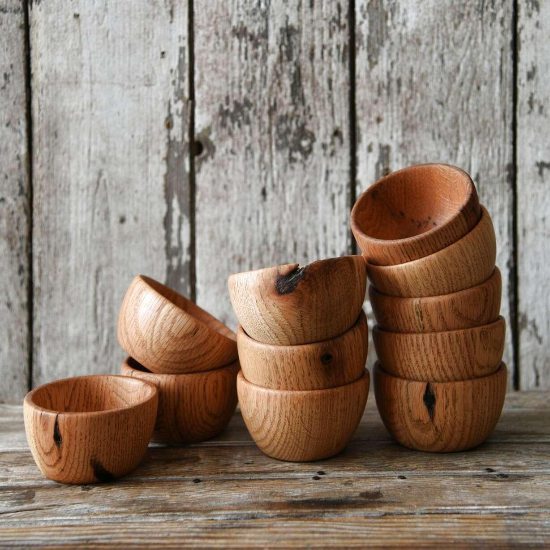 oak bowl for sale