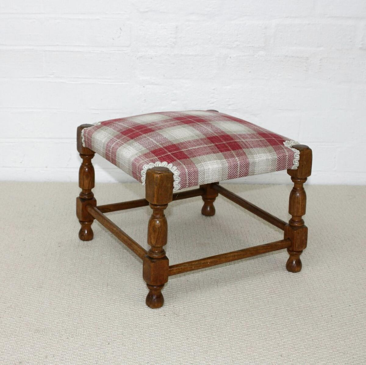 oak footstool antique for sale