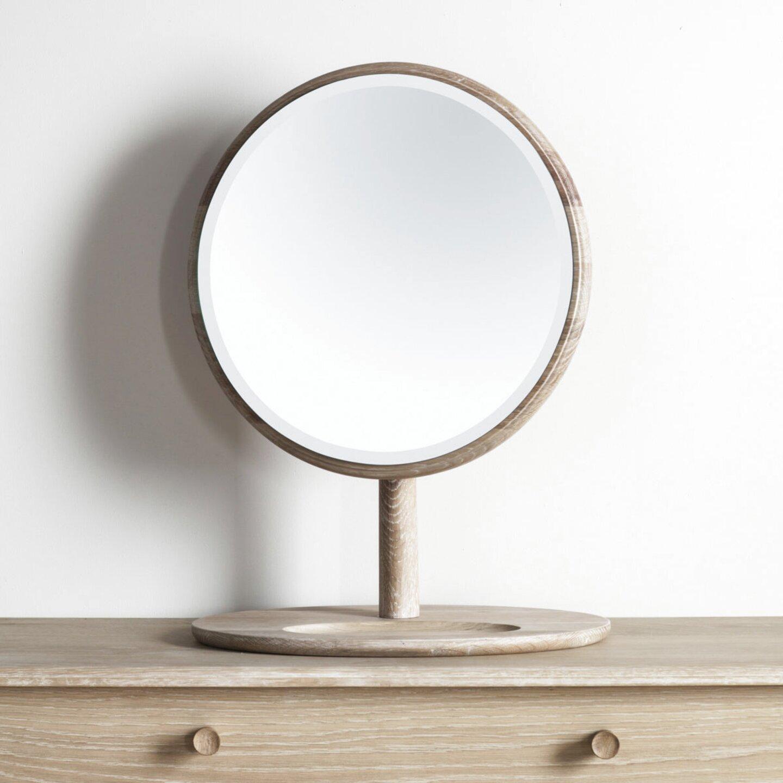 oak dressing table mirror for sale