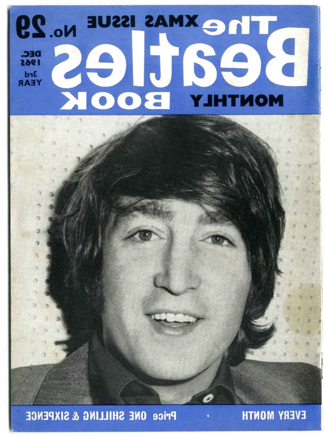 beatles monthly book for sale