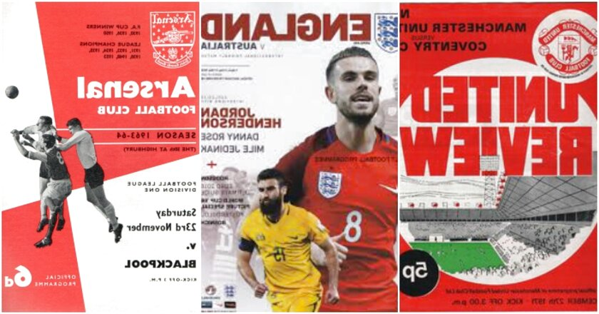 football programmes for sale