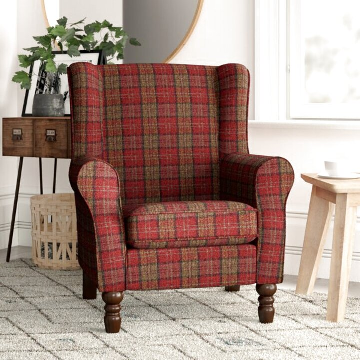 tartan chair for sale