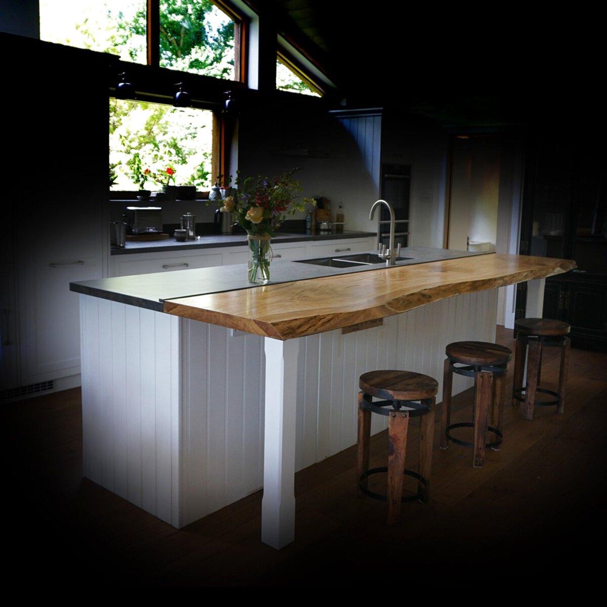 oak breakfast bar for sale