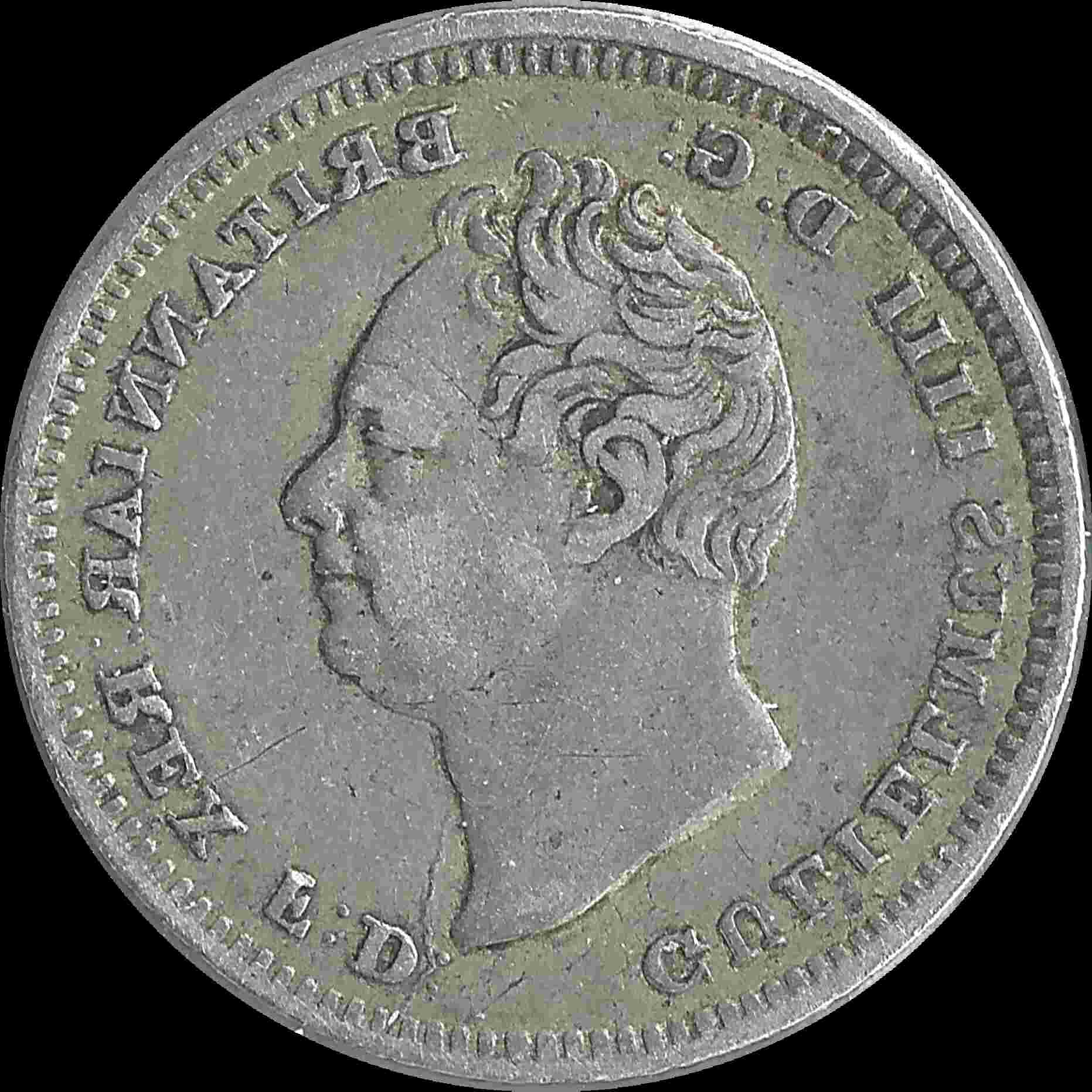 four pence coin