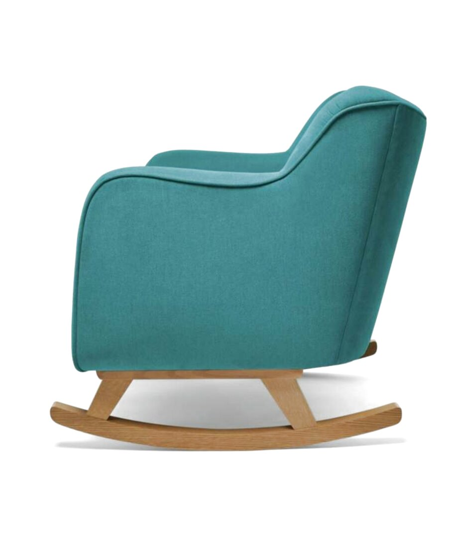 teal cuddle chair for sale