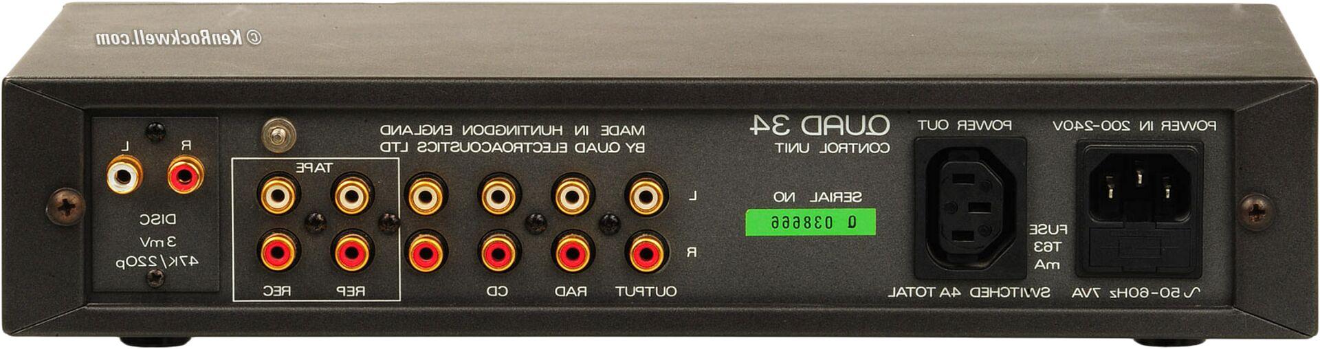 quad 34 amplifier for sale