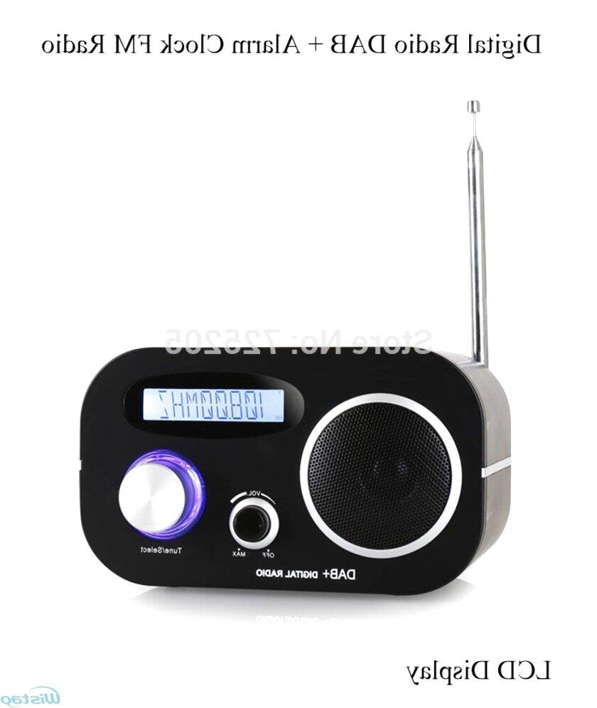 dab digital alarm clock for sale
