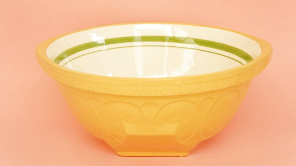 t g green mixing bowl for sale