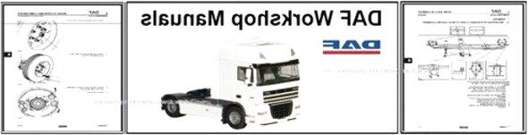 daf workshop manual for sale
