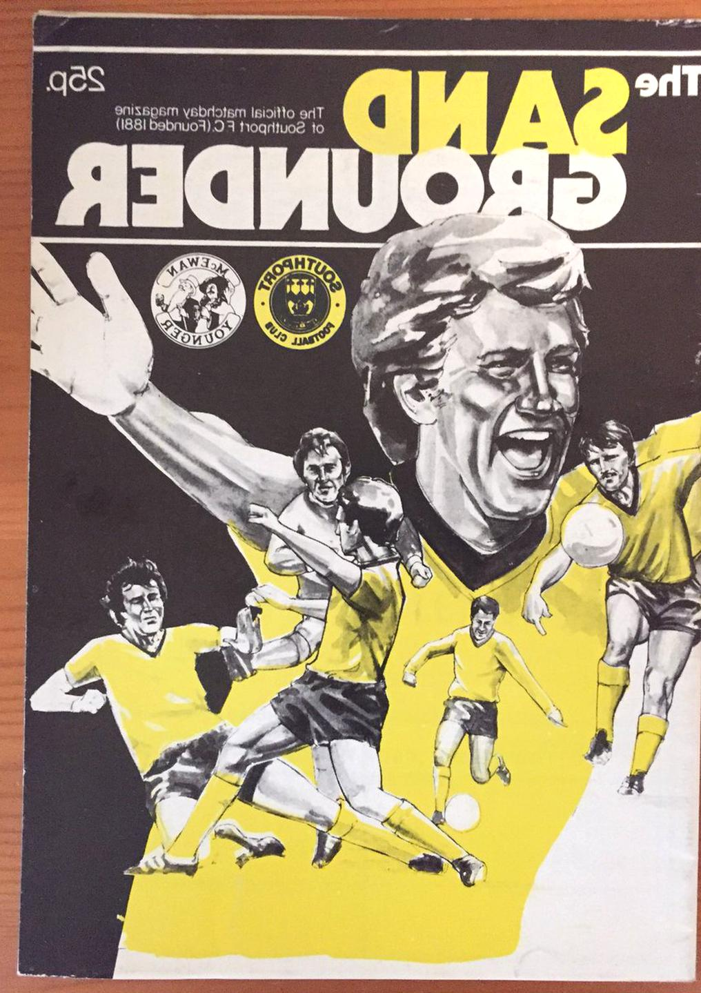 southport football programmes for sale