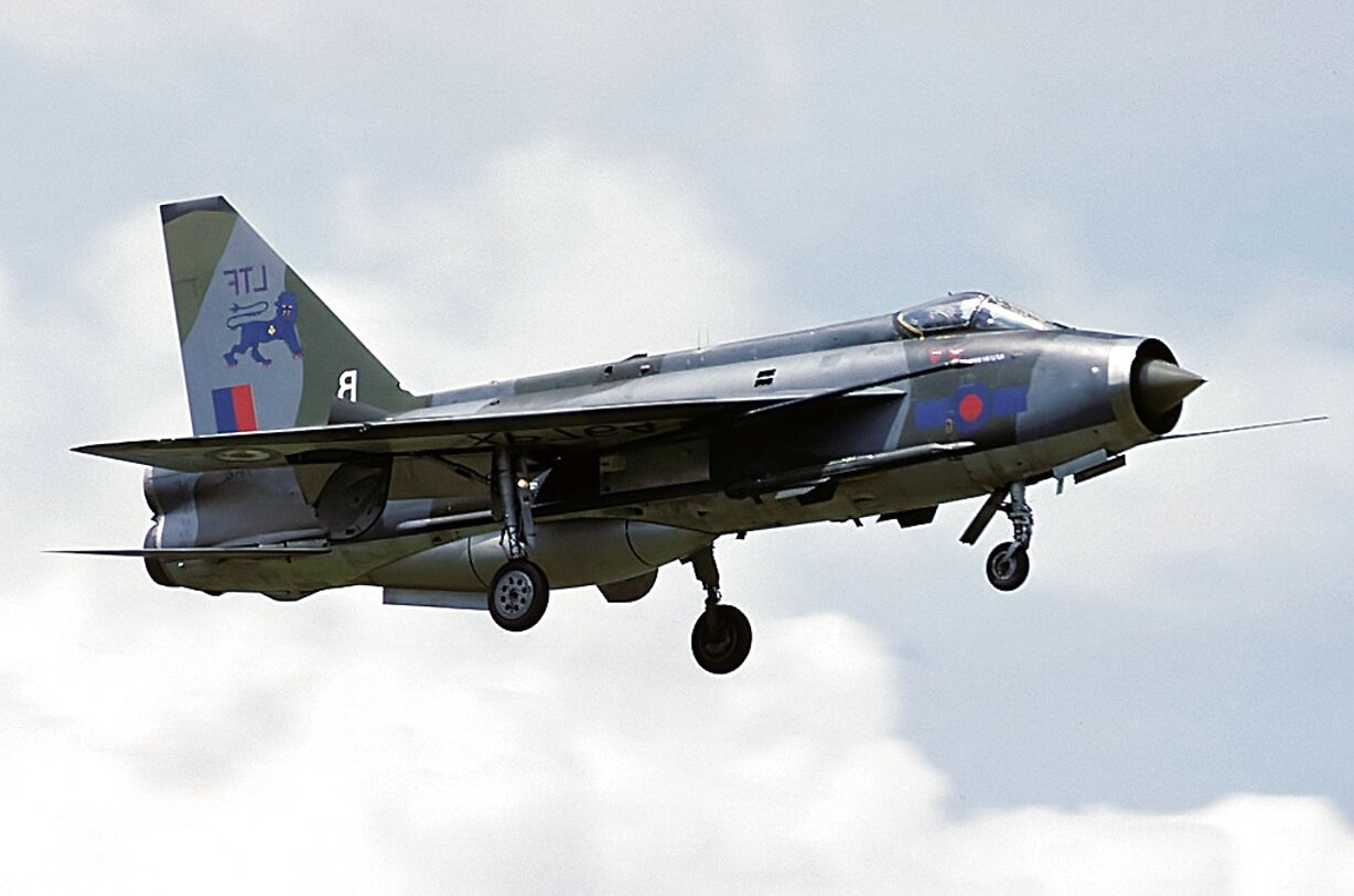 english electric lightning for sale
