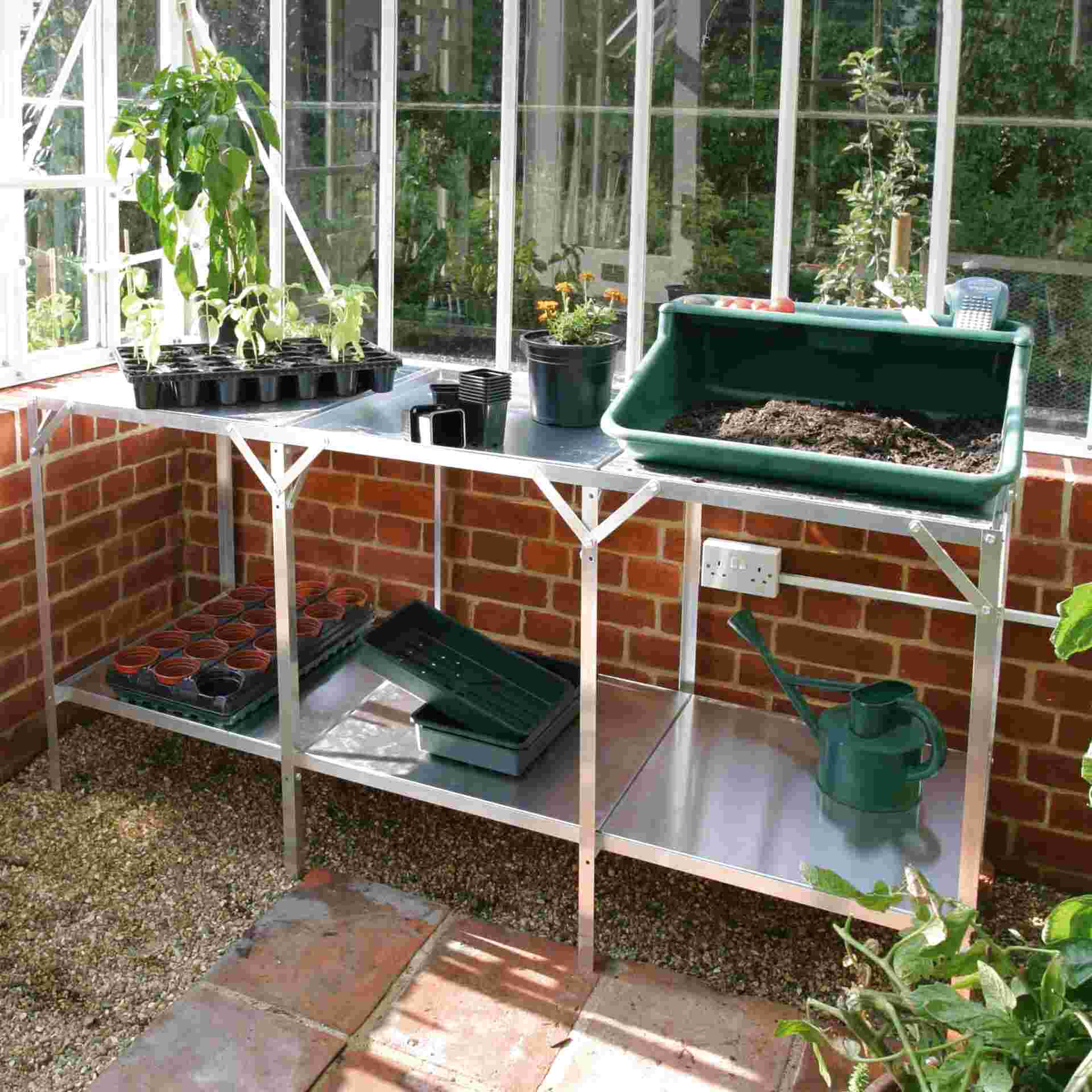 greenhouse staging for sale