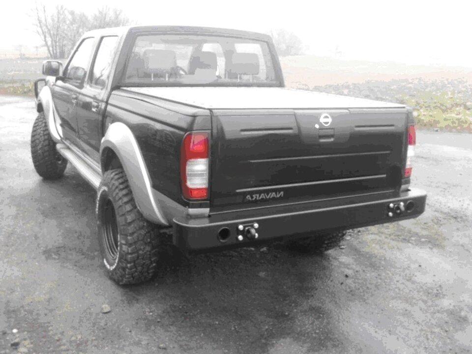 d22 rear bumper for sale