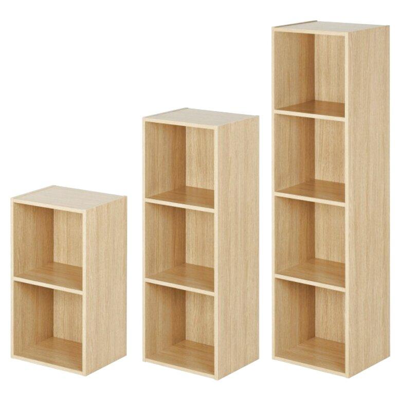 oak cube storage unit for sale