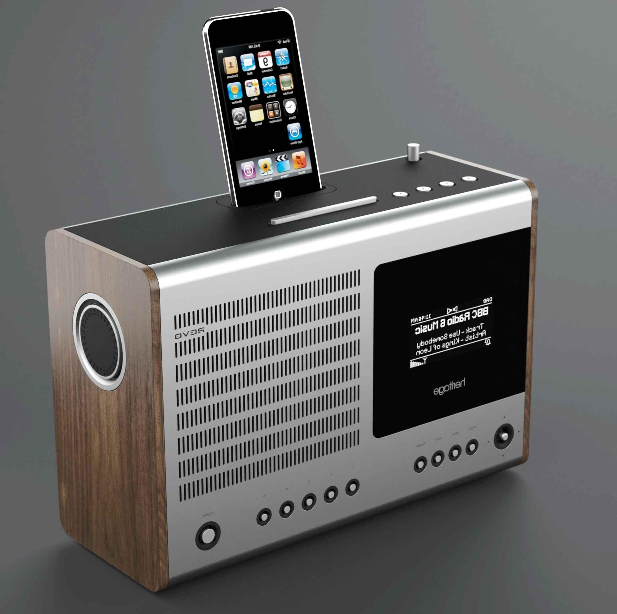 dab radio ipod dock for sale